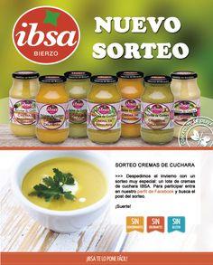 Nuevo #sorteo de #cremas @ibsabierzo. Participar a través de nuestro perfil de Facebook: http://on.fb.me/21FHNKs  #recetassaludables #cremasnaturales #conservamoslanaturaleza