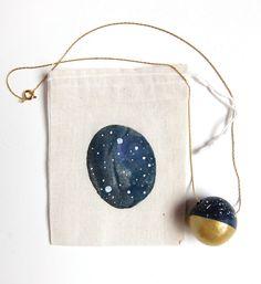 Constellation necklace.