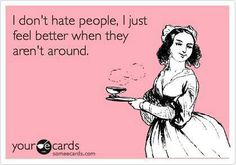 not a people person ecard