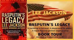 Rasputin's Legacy by Lee Jackson (Cold War series) book tour badge