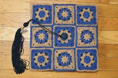 Ravelry: Project Gallery for Never fading flower square / evighetsblomst pattern by Nellas April