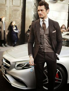 London Fashion by Paul: Street Muses...David Gandy @LCM Autumn/Winter 2015, London