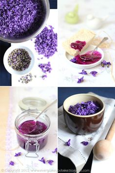 Every Cake You Bake: Jam made from the petals of violets