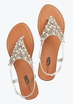 These are super cute Heavy Metal Sandals from rue 21