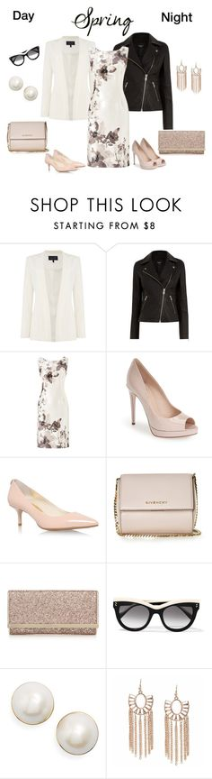 """Spring Day to Night"" by southindianmakeup1990 ❤ liked on Polyvore featuring Armani Jeans, Warehouse, Jacques Vert, Fendi, MICHAEL Michael Kors, Givenchy, STELLA McCARTNEY and Kate Spade"