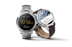 Fossil has officially dipped their toes into the smartwatch pool. The Fossil Q Founder Smartwatch is powered by Android Wear. Android Wear Smartwatch, Android Watch, Fossil Watches For Men, Swiss Army Watches, Wrist Watches, Google Play, Fossil Q, Bracelets Design, Wear Watch