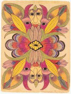 minnie evans artwork - Google Search