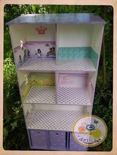 Casa con guarda juguetes