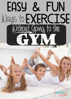 Some of these ideas are just brilliant! Who needs the gym now?!! Ha!