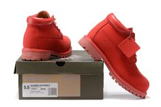 Red Timberland Men Shoes,Fashion Winter 2016 New Timberland Men Boots