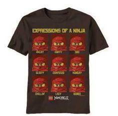 Expressions Lego Ninjago T Shirt only $15.95 at #kiditude