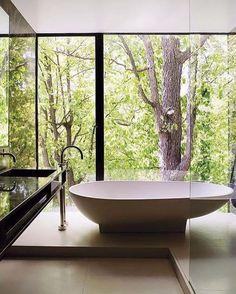COCOON modern bathtub inspiration bycocoon.com | freestanding bathtubs | inox stainless steel bathroom taps | bathroom design | renovations | interior design | villa design | hotel design | Dutch Designer Brand COCOON