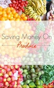 Think saving on produce is hopeless?  Think again!  Here are some great tips to help you coupon and save money on produce.