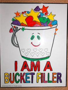 Achieving Creative Order: Have you filled a bucket today? A great message and incentive program for kids
