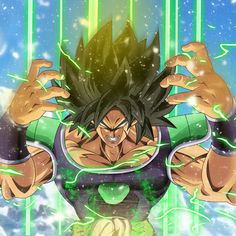 Broly - Powering Up, Dragon Ball Super Dragon Ball Gt, Dragon Art, Photo Dragon, Dragonball Super, Wallpaper World, Anime Merchandise, Akira, Illustrations, Anime Art