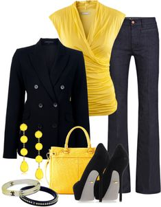 "Style - ""Everything Just Falls Into Place"" by colierollers on Polyvore. Love the colors together."