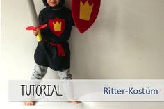 DIY tutorials by tepetua - Ritterrüstung aus Fleece
