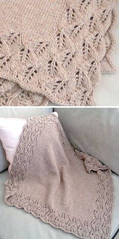 Knitting Pattern for Elora Baby Blanket - Leaf lace cascades down and around the. Knitting , Knitting Pattern for Elora Baby Blanket - Leaf lace cascades down and around the. Knitting Pattern for Elora Baby Blanket - Leaf lace cascades down . Baby Knitting Patterns, Lace Patterns, Crochet Patterns, Afghan Patterns, Amigurumi Patterns, Leaf Knitting Pattern, Knitting Baby Girl, Crochet Borders, Free Knitting