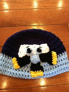 Skipper Planes Beanie Skullcap Hat all sizes available newborn through adult