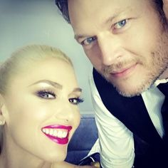 Pin for Later: Gwen Stefani Shows Her Love For Blake Shelton on Social Media May 2016