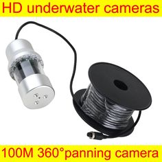 (415.92$)  Watch more here  - 360 Degree Rotative Underwater Camera Fish Finder Fishing Video Camera LCD HD Monitor 100M Cable Diving Fishing Camera