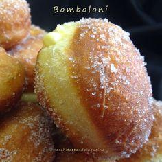 architettando in cucina: Bomboloni e ciambelle versione mini