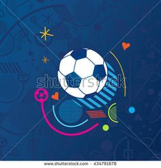 ArtDesign Illustration's Portfolio on Shutterstock  2018 Soccer WORLD CUP clip art gallery  Collection -  football, soccer player, soccer ball, soccer field, sports, kids soccer, soccer stadium, soccer fan, soccer goal, soccer background, russian folk, rusia, fifa, banner, flyer, concept design, world cup tickets, competition, tournament, international, game, award cup icons, red, blue, color, kids, ILLUSTRATION VECTOR TEMPLATE.