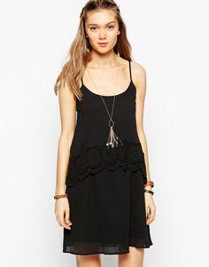 Diya Crochet Short Dress