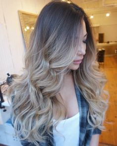 ash+blonde+ombre+for+long+hair