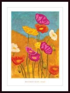 Sunlit Garden Art Print by Beverly Jean at Barewalls.com