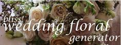 "This is a great link to help you find out the seasonal floral varieties available to you based on location. There is no better start to #beingsustainableinstyle than choosing local and seasonal flowers for your big day! Not only will you minimize your ""footprint"", but you can maximize your money.*"