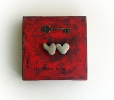 unique Valentine's Day Gift for Him  heart by MedBeachStones, $39.00