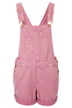 MOTO Dusty Pink Dungarees (£75.00) - Svpply