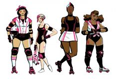 Boom comics is launching a roller derby comic book named Slam.