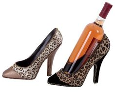 Fun wine bottle holders