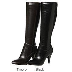 Via Spiga Women's 'Shanti' Leather Knee-high Boots   Overstock.com Shopping - Great Deals on Via Spiga Boots
