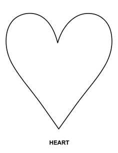 Heart coloring page | Download Free Heart coloring page for kids