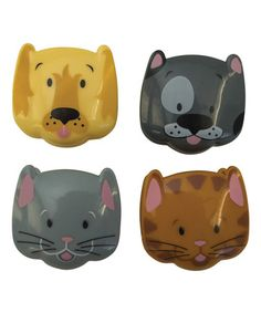 Look what I found on #zulily! Cat & Dog Clippable - Set of Four #zulilyfinds