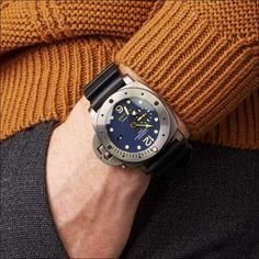 (1) AMAZINGBABA - Aviation Metail Frame Quality Leg Alloy Men - AmazingBaba Casual Watches, Cool Watches, Luminor Panerai Automatic, Rolex Submariner Green, Panerai Submersible, Rubber Clogs, Rolex Presidential, Classy Wear, Panerai Watches
