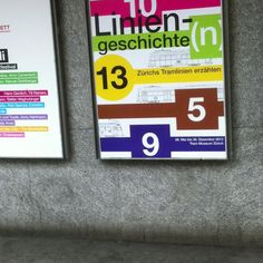 Liniengeschichten Plakat Trammuseum  #vbz picture