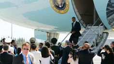 It was Washington's decision to have US President Barack Obama disembark from…