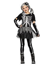 kids sassy skeleton costume - Skeleton Halloween Costume For Kids