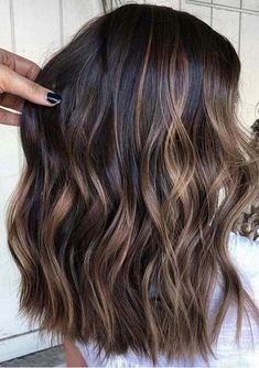 Visit this link and find the stunning shades of brunette balayage hair colors wi. Balayage , Visit this link and find the stunning shades of brunette balayage hair colors wi. Visit this link and find the stunning shades of brunette balayage . Brown Hair Balayage, Hair Color Balayage, Balayage Highlights Brunette, Blonde Hair, Babylights Brunette, Highlights For Brunettes, Balayage Hair Caramel, Ombre For Dark Hair, Balayage Dark Brown Hair