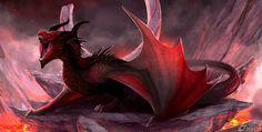 Dragon Alarziik by IrenBee