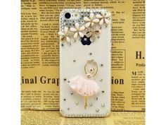 3D #Ballet Girl iPhone #5C Case (#Pink)