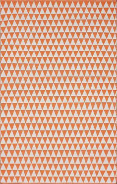 Rugs USA Brilliance Outdoor Prism Checks Orange Rug