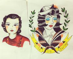 tatoo flash 色塗り  #tatoo #tatooflash #tatooart #tatoos #tatooine #tatoolife #tatoo#tatoogirls #tatoogirl #tatoosketch #usn #usa #usaf #usnavy #vintage#ww2 #veitnamwar #タトゥー #タトゥーガール #タトゥーアート #barlesque #毎日練習 #タトゥーデザイン #タトゥーモデル