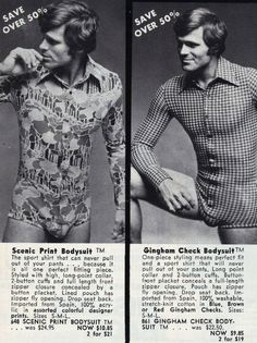 Is this the original onesie? Cheesy 1970s catalogue ads prove that the…