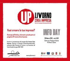 Up #Livorno Crea #Impresa - Info Day 28 marzo 2013 - #toscana #lavoro #autoimprenditorialità