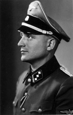 "Nikolaus ""Klaus"" Barbie (25 October 1913 – 23 September 1991) was an SS-Hauptsturmführer (rank equivalent to army captain) and Gestapo member. He was known as the ""Butcher of Lyon"" for having personally tortured French prisoners of the Gestapo while stationed in Lyon, France. After the war, United States intelligence services employed him for their anti-Marxist efforts and also helped him escape to South America."